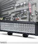 4 რიგიანი 252 ვატიანი LED განათების ბარი კომბინირებული სხივით
