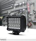 4 რიგიანი 72 ვატიანი LED განათების ბარი კომბინირებული სხივით